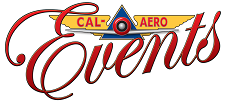 Cal Aero Events - Unique Events Weddings Corporate Reunions and More Logo