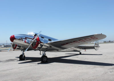 Aircraft Rental - Lockheed 12A Electra Junior
