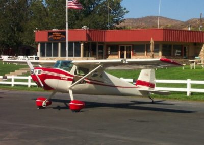 Cessna 140A Aircraft Rental at Cal Aero Events