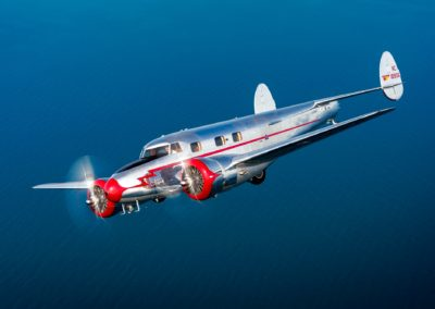 Flying Lockheed 12A Electra Jr.