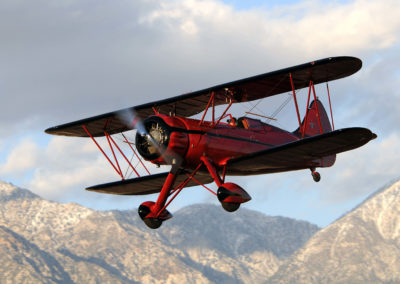 "Our Waco ZPF-7 Biplane is ""Z"" Best Rent our biplane as pretty in the air as on the ground!"