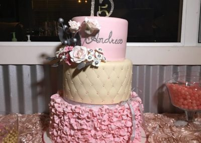 Quinceanera Birthday Cake