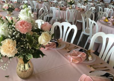 Quinceanera Table Layout