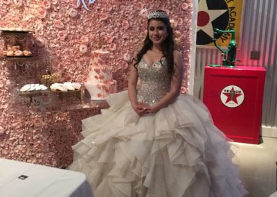 Quinceanera Birthday Girl in Dress
